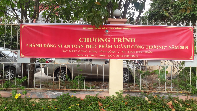 ĐVTH  Sở Công Thương tỉnh Bình Phước